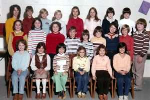 Fourth grade, West Hill Elementary.